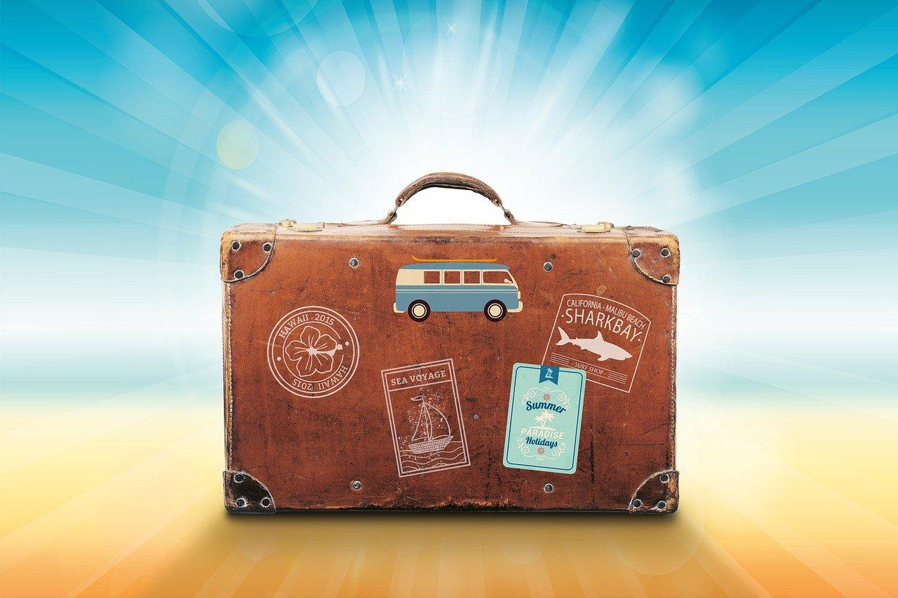 travel cna suitcase